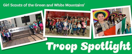 Troop Spotlight Header