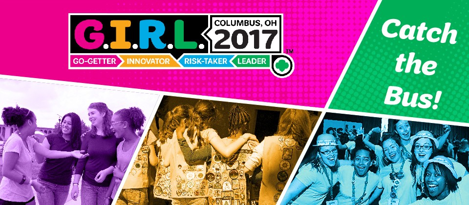 Catch the bus to G.I.R.L. 2017