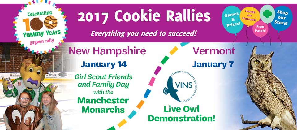 GSGWM Cookie Rallies are Coming!