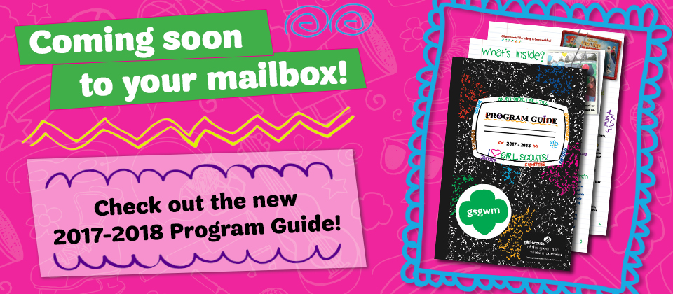 Check out the new Program Guide!