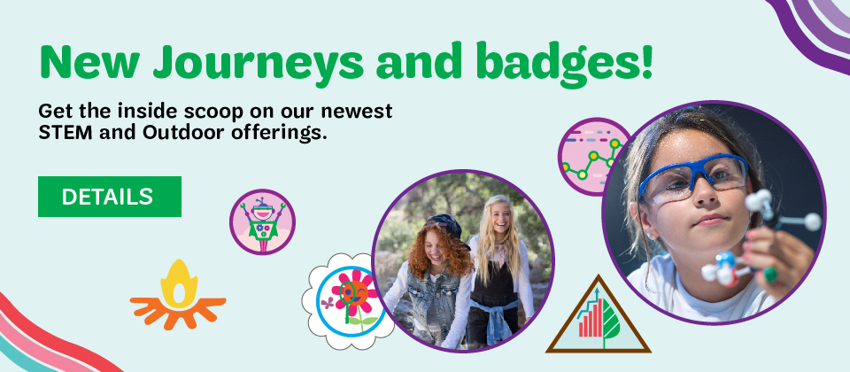 Check out the new Journeys and badges!