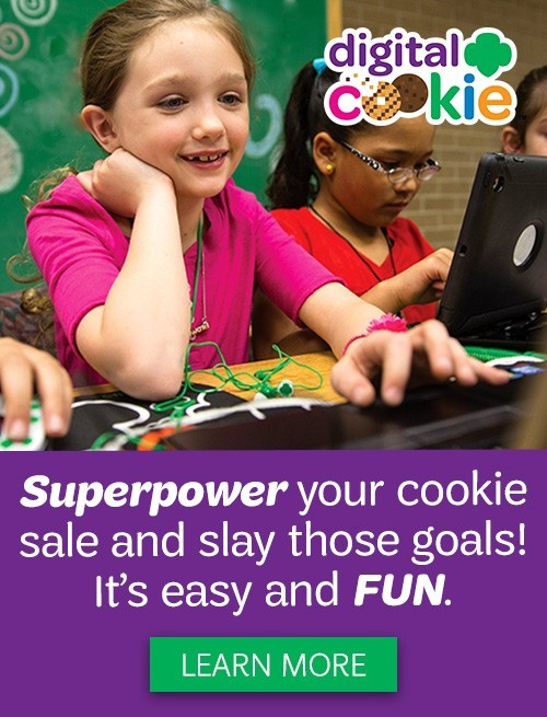Girl Scout Cookies Are Digital!